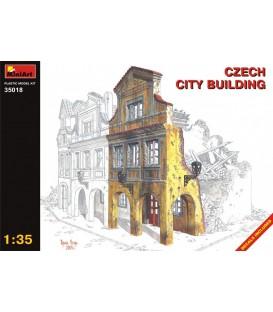35018 Czech city building