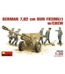 35033 German 7.62 cm Gun FK288 (r) W/ Crew