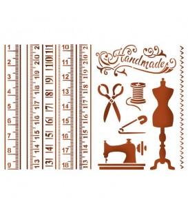 Plantillas - Stencils 21x29,7 Atelier KSG401