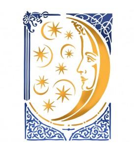 Plantillas - Stencils 21x29,7 Alchemy Moon KSG404