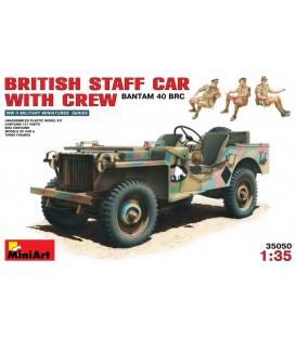 35050 British Staff Car With Crew