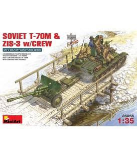 35056 Soviet T-70M & ZIS-3 with Crew