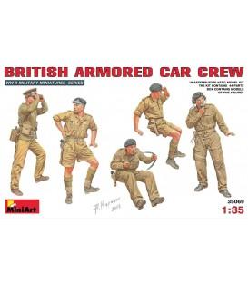 35069 British armored car crew