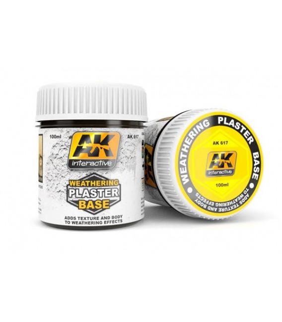AK617 Weathering plaster base 100 ml.