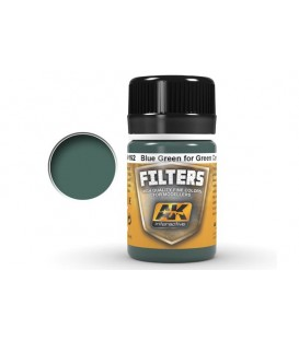 AK4162 Blue green for Green camo 35 ml.