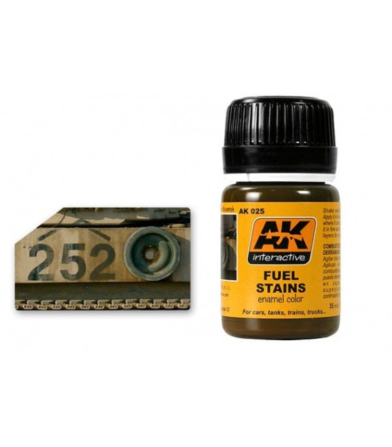 AK025 Fuel Stains 35 ml.
