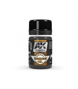AK2019 Aircraft Engine Oil 35 ml.