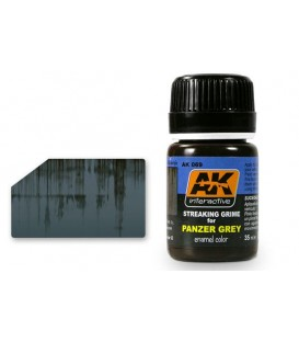 AK069 Streaking grime for Panzer Grey 35 ml.