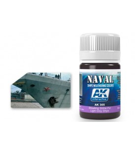 AK305 Streaking grime for light grey ships 35 ml.