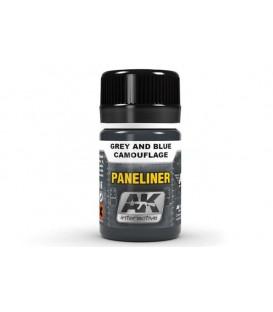 AK2072 Paneliner for grey and blue camouflage 35 ml.