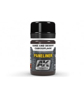 AK2073 Paneliner for sand and desert camouflage 35 ml.