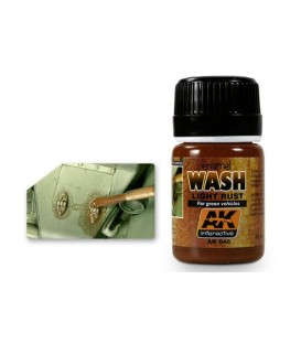 AK046 Light rust Wash 35 ml.