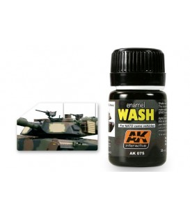 AK075 Wash for NATO tanks 35 ml.