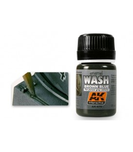 AK070 Wash for Panzer grey 35 ml.