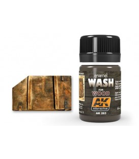 AK263 Wash for wood 35 ml.