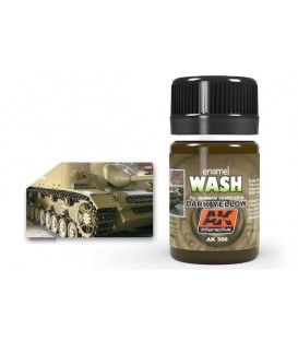 AK300 Dark Yellow Wash 35 ml.