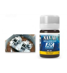 AK301 Dark Wash for wood deck 35 ml.