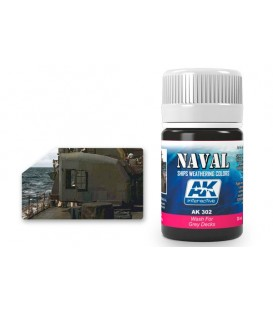 AK302 Wash for grey decks 35 ml.
