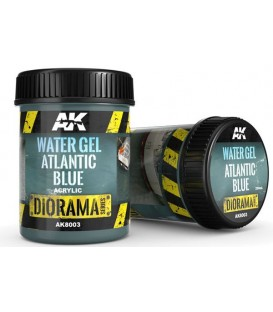 AK8003 Water gel Atlantic blue 250 ml.