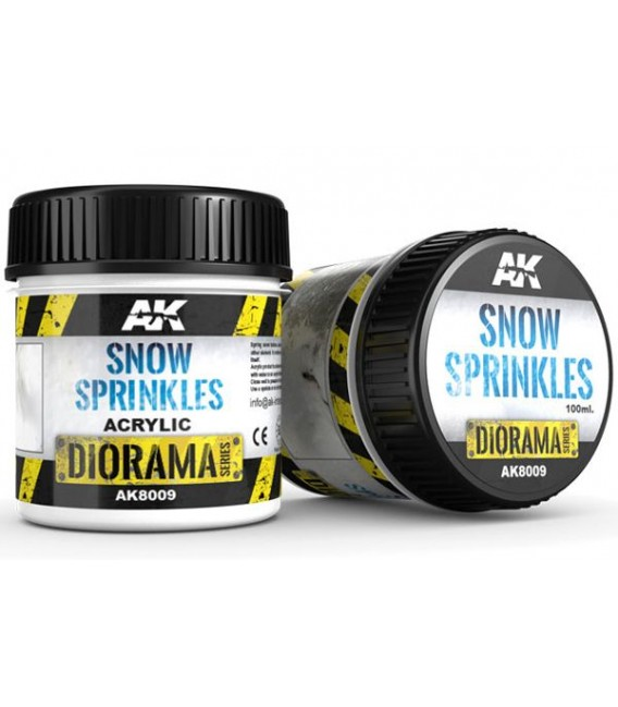 AK8009 Snow sprinkles 100 ml.