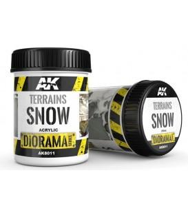 AK8011 Terrains snow 250 ml.