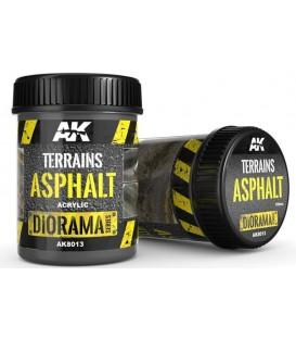 AK8013 Terrains asphalt 250 ml.