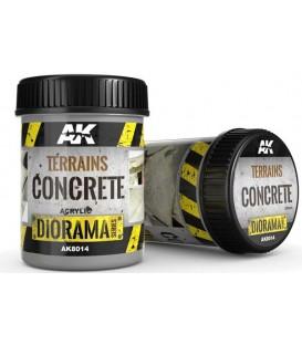 AK8014 Terrains concrete 250 ml.
