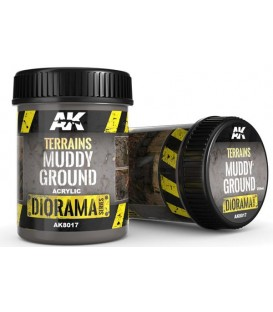 AK8017 Terrains muddy ground 250 ml.