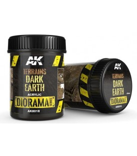 AK8018 Terrains dark earth 250 ml.