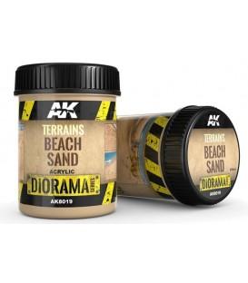 AK8019 Terrains beach sand 250 ml.
