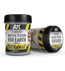 AK8023 Terrains neutral texture for earth 250 ml.