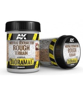 AK8025 Neutral texture for rough terrain 250 ml.