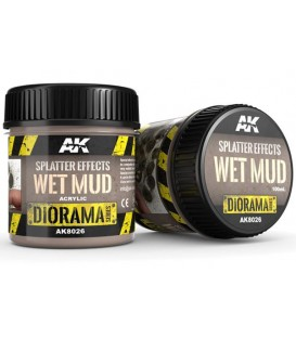 AK8026 Splatter effects wet mud 100 ml.