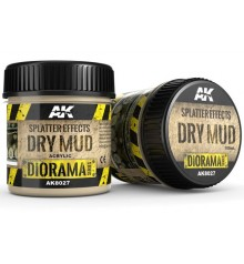AK8027 Splatter effects dry mud 100 ml.
