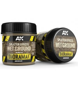 AK8029 Splatter effects wet ground 100 ml.