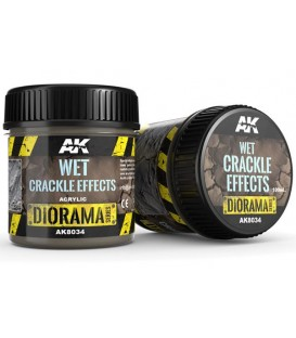AK8034 Wet crackle effects 100 ml.