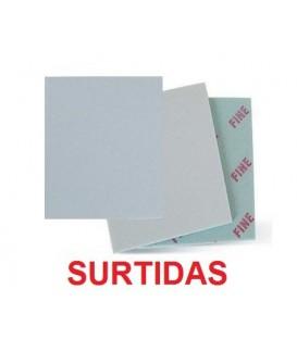 Set 3 Esponges Paper de Vidre Assortides 14 x 11 cm