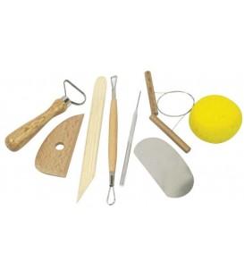 8 Pcs. Modeling Tools Set