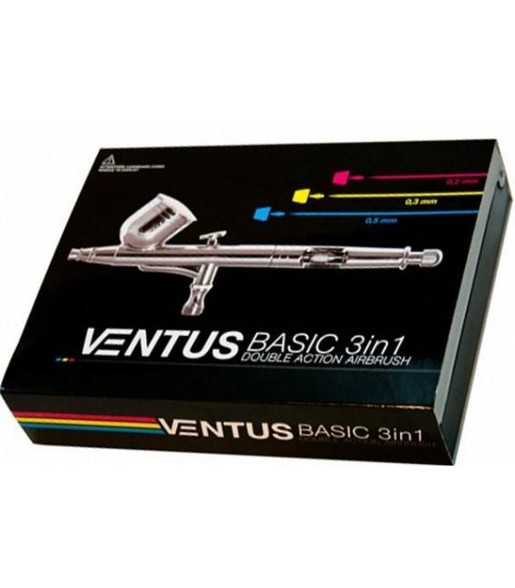 cb) Aerographe VENTUS BASIC VB03 - 3 in 1