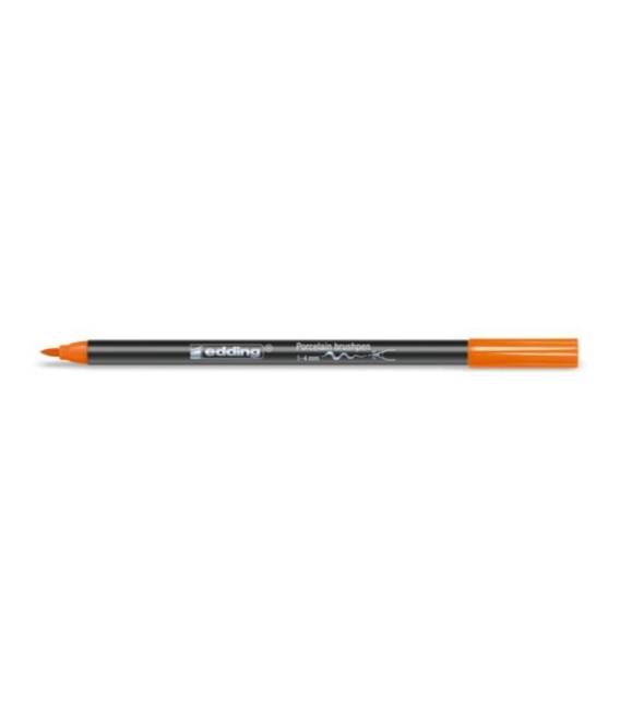 006) Orange Markers Edding 4200 for porcelain