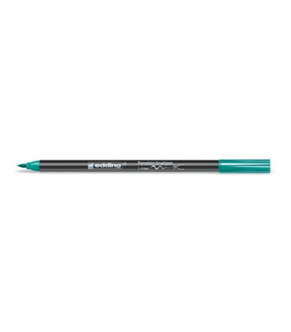 012) Turquoise Blue Markers Edding 4200 for porcelain