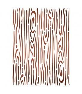 Plantilles - Stencils 15x20 Wood effect KSD287