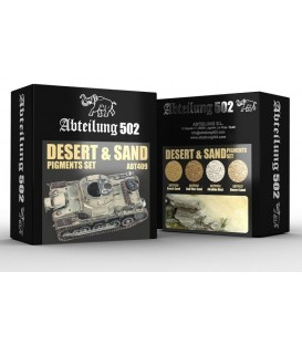 ABT409 Desert & Sand Pigment Set 4 u. 20 ml.