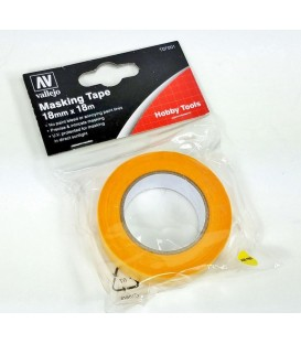 Masking Tape Vallejo T07001 18mm x 18 m.