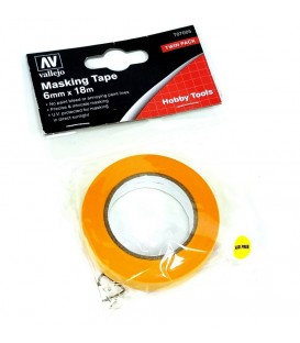 Masking Tape Vallejo T07005 6mm x 18 m.
