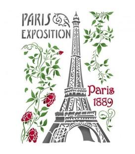 Plantilles - Stencils 21x29,7 Exposition de Paris KSG396