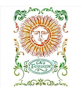 Stencils 21x29,7 Alchemy Sun KSG403
