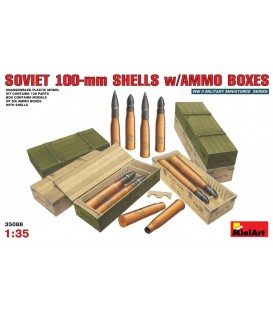 35088 Soviet 100mm Shells w/ Ammo Boxes