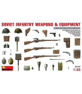 35102 Soviet Infantry Weapons and Equipment
