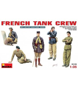 35105 French Tank Crew
